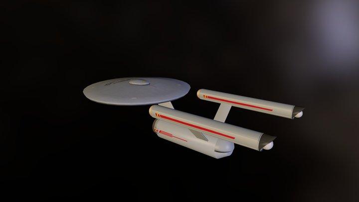 Old Enterprise 3D Model