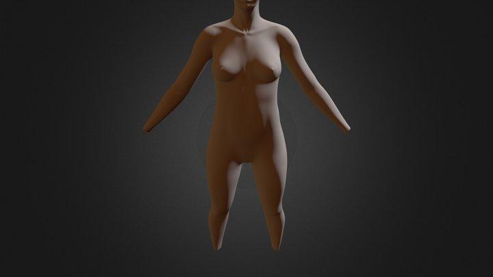 Base Mesh Female.blend 3D Model