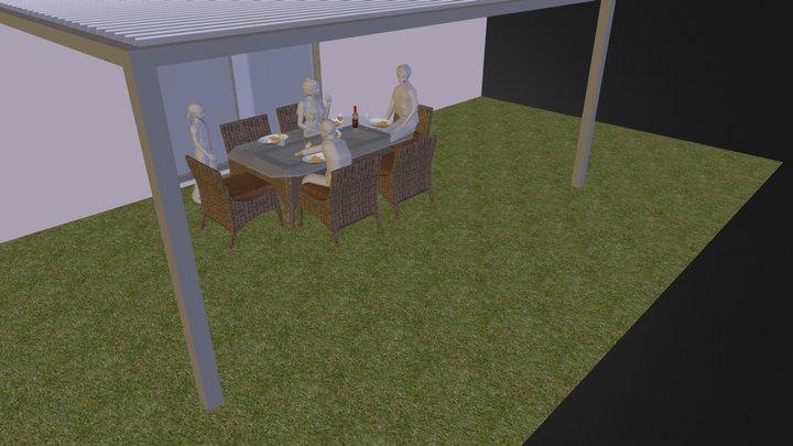 sketchfab_test_pergola.zip 3D Model