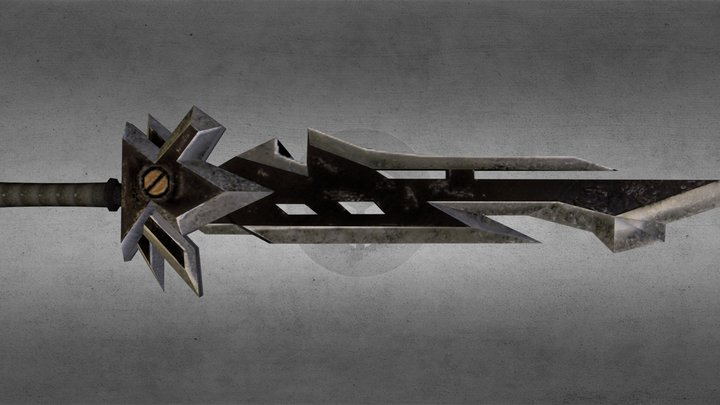 Deldrimor Sword 3D Model