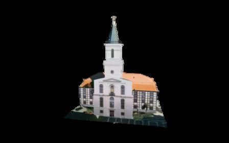 Kościół Matki Boskiej Częstochowskiej, Zielona G 3D Model