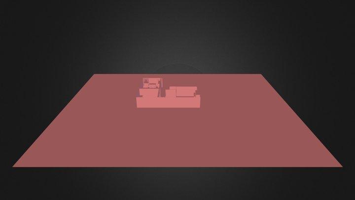 Maison.3ds 3D Model