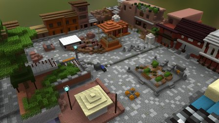 Old Temple Site in Nepal 3D Model