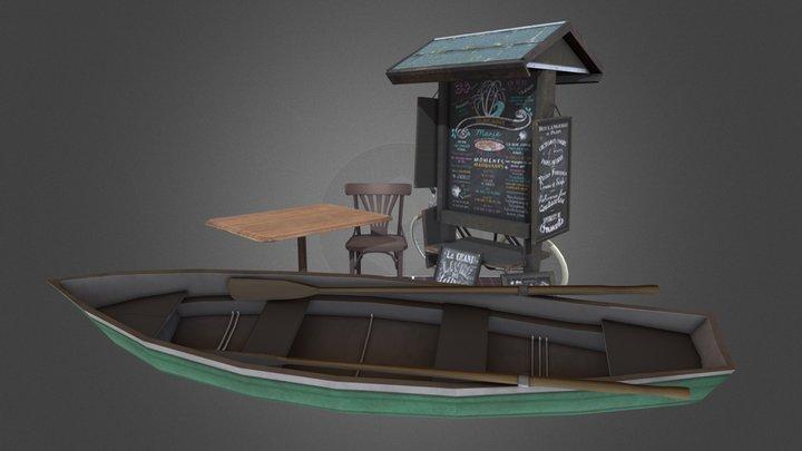 Props Qweek 3D Model