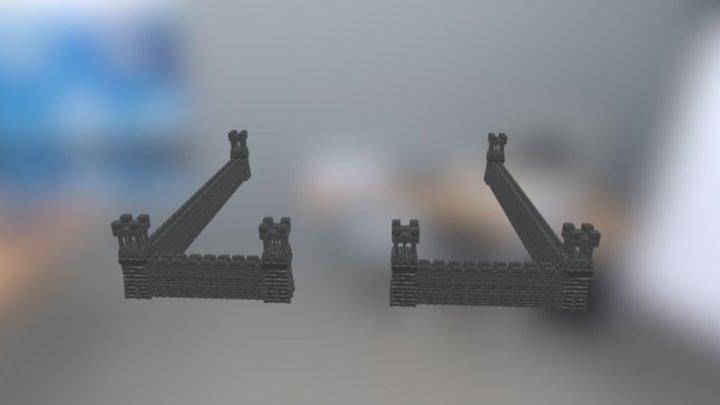 Muralla Age of empires II (TP) 3D Model