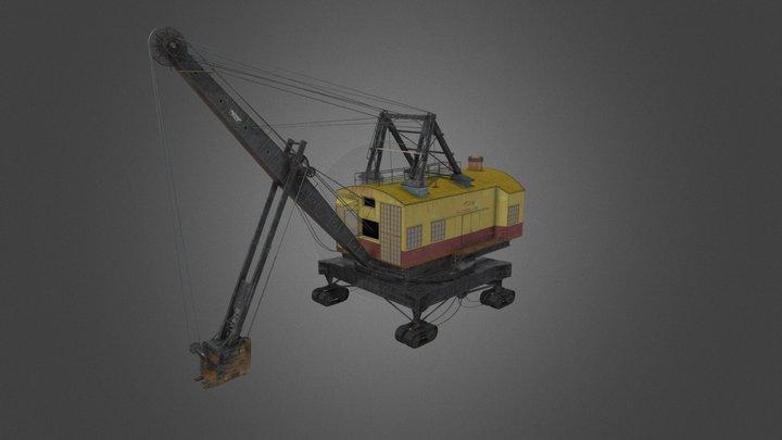 Bucyrus Erie 200B Shovel 3D Model
