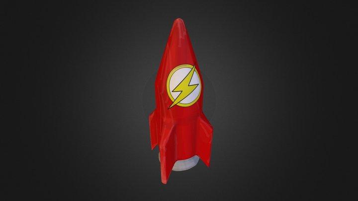 Rocket 01 3D Model