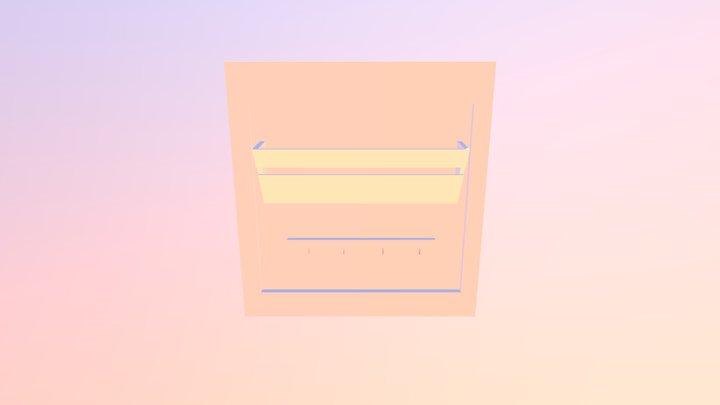 Letter And Keys 1 3D Model