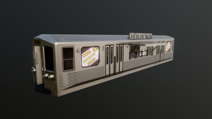 Subway Bar 3D Model