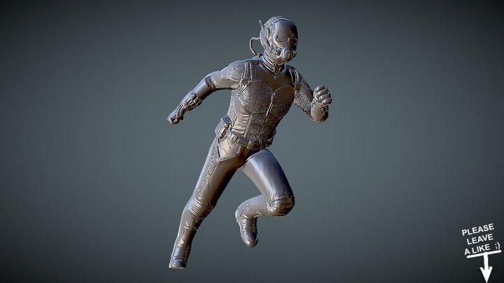 ANT-MAN for 3dprint 3D Model