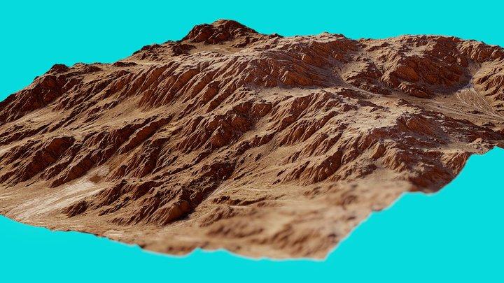 Mars Landscape 6 3D Model
