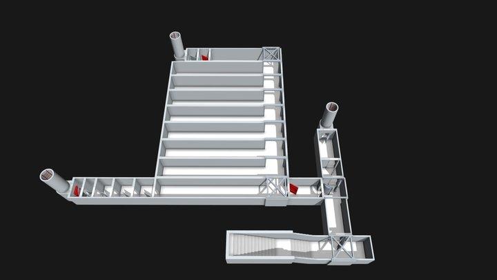 RAFüSt BVfS Suhl 3D Model