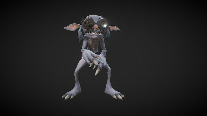 Skeech (Rework) 3D Model