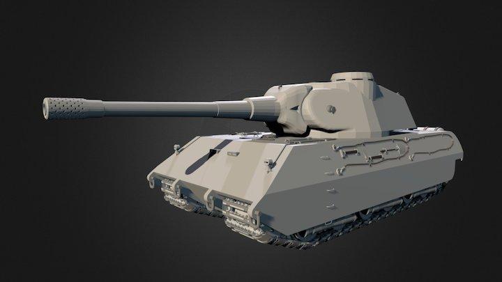 Vk 100-01 mammut 3D Model
