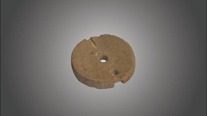 Romeinse maalsteen Maldegem Ringbaan (1/2) 3D Model