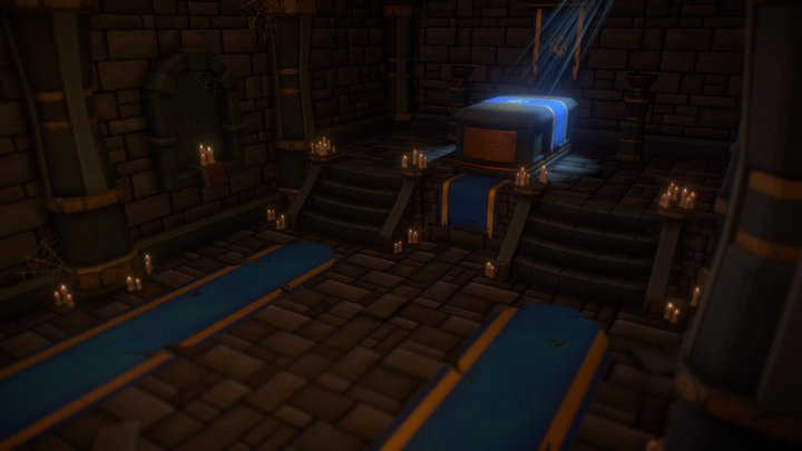 Crypt of Kings 3D Model