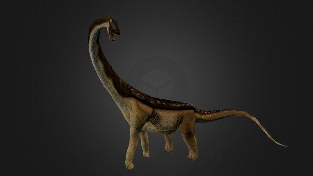 Alamosaurus-alone 3D Model