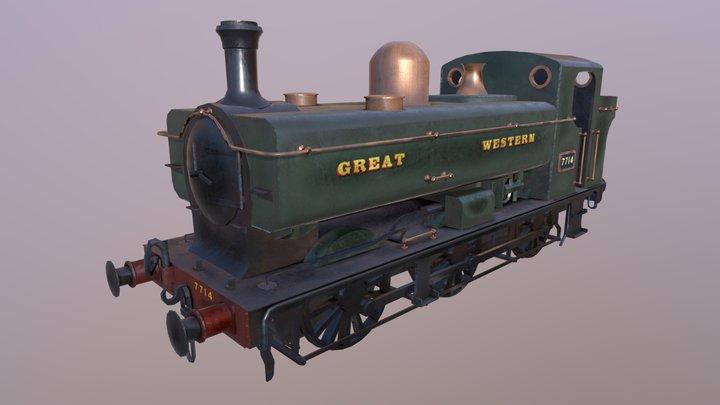 GWR 5700 3D Model