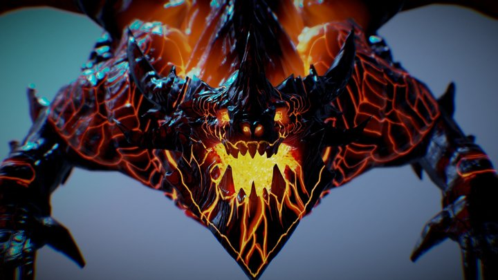 Lareousm, the mother of dragons 3D Model