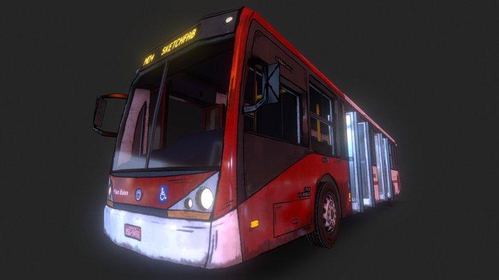 Bus - Caio Millennium 3D Model