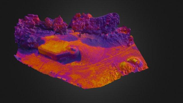 Bunker BS8 Thermal 3D 3D Model