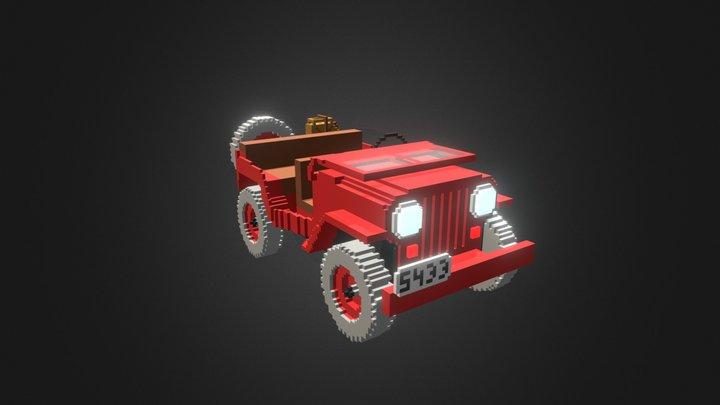 Jeep Rouge 3D Model