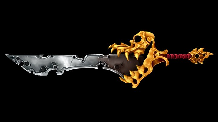Greed Blade 3D Model