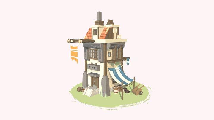XYZ school Homework_09 House 3D Model