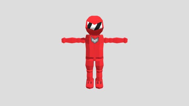 Power Ranger - PS1 3D Model