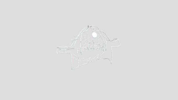 Sketch1 3D Model