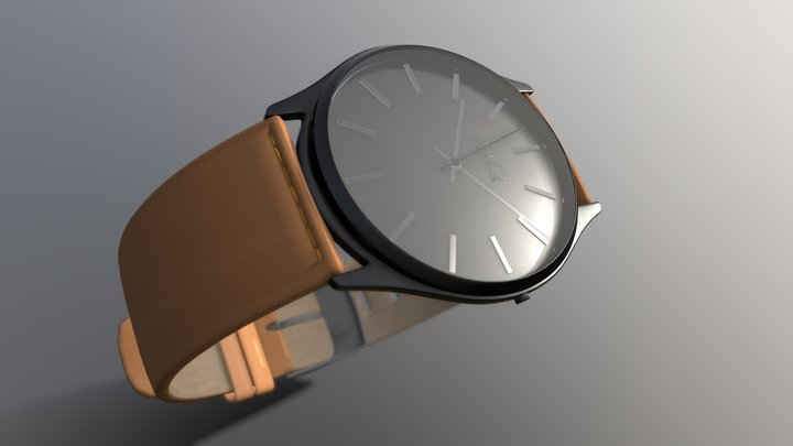 Accutime -Campbell Brown 3D Model