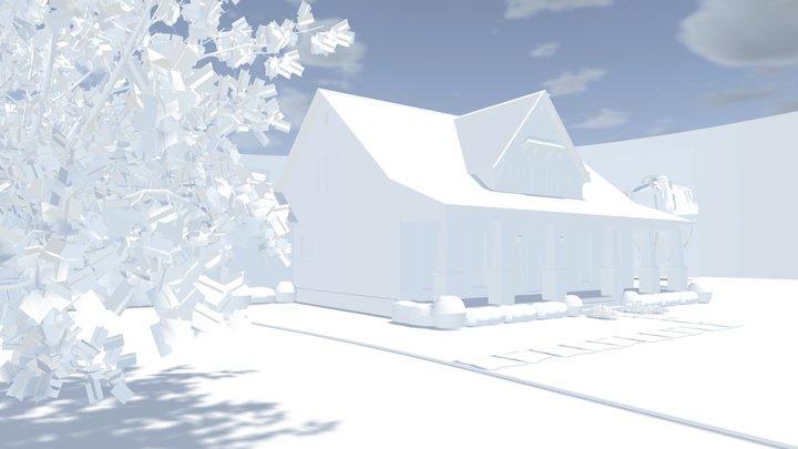 Baldwin Cottage 3D Model