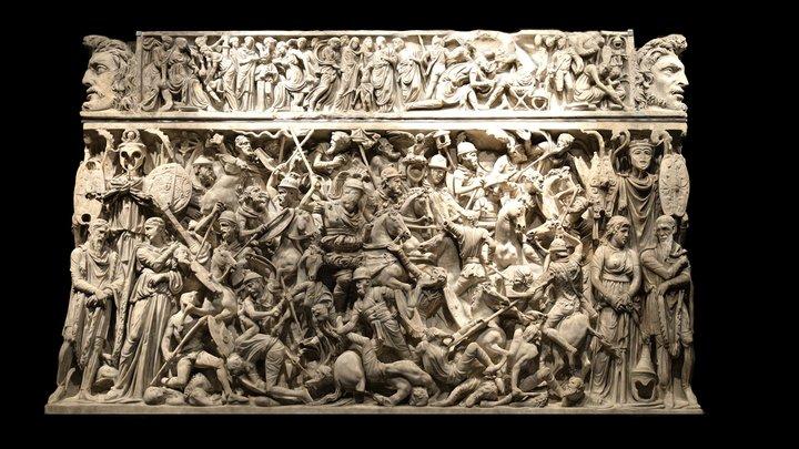Portonaccio sarcophagus 3D Model