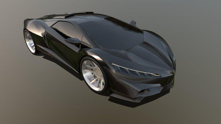 Gravity Sketch VR - Lamborghini Concept 3D Model
