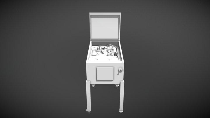Pinball Machine Asset 3D Model