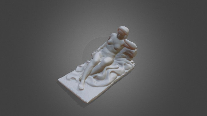 Mujer sedente 3D Model
