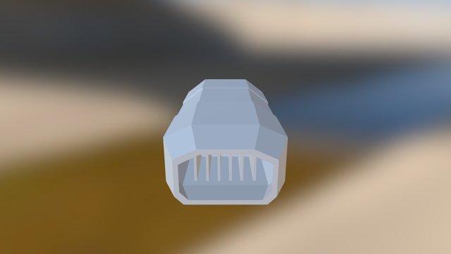 Props Engine Scrap 3D Model