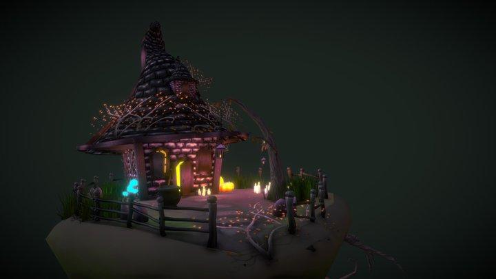 Witch Hut! 3D Model