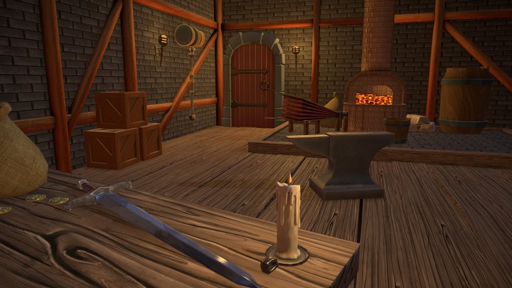 Forge 3D Model