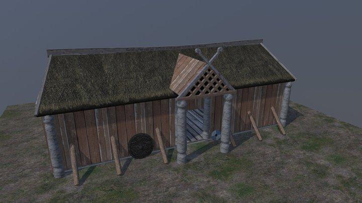 Vikinghouse 3D Model