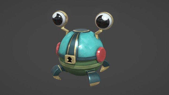 Frog Chest 3D Model