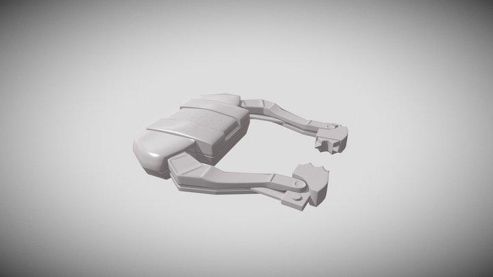 2DAE01_3D4Games_LP_ROB_Bake 3D Model