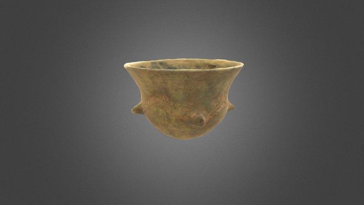 Reproducción cerámica: Vaso neolítico 3D Model