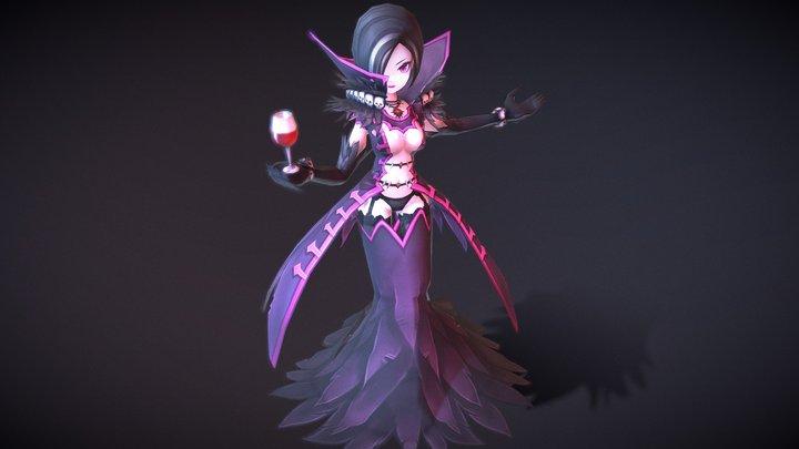 Casual RPG Monster - 11 Eclair 3D Model