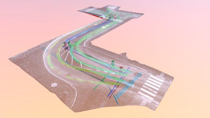 Strömstad GPR 3D Model
