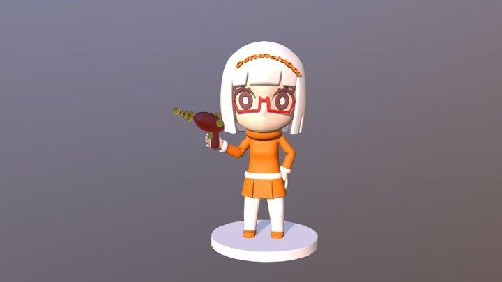 Odairoid 001 3D Model