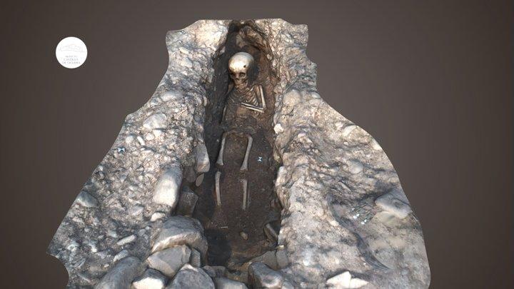 Tomb in Viguera (La Rioja, Spain) 3D Model