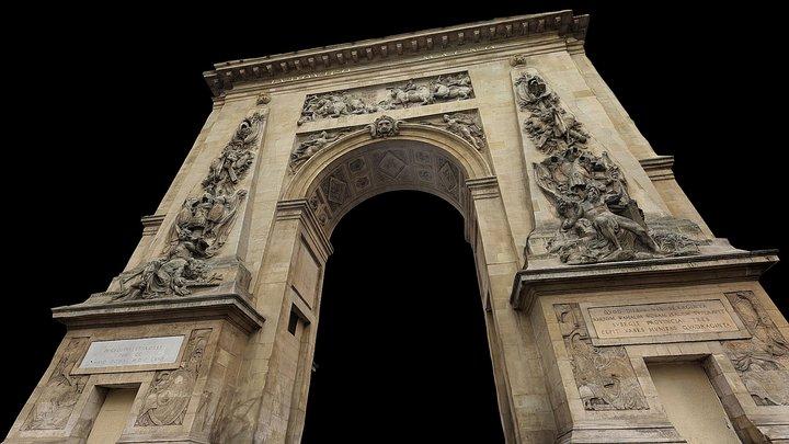 Porte Saint-Denis 3D Model