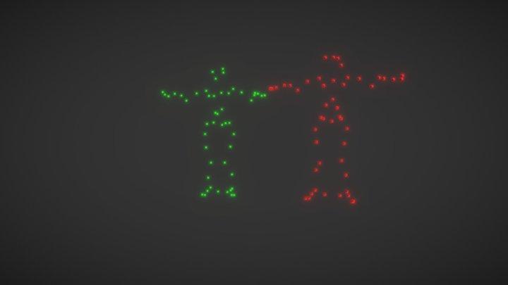 Bā Jiā Jiāng (eight generals) Motion Capture 3D Model