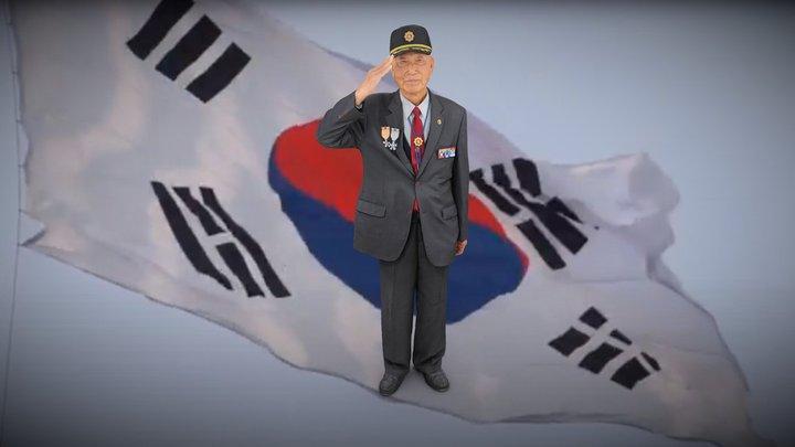 전북동부보훈지청 6.25 70주년 이두영 참전용사님 3D Model